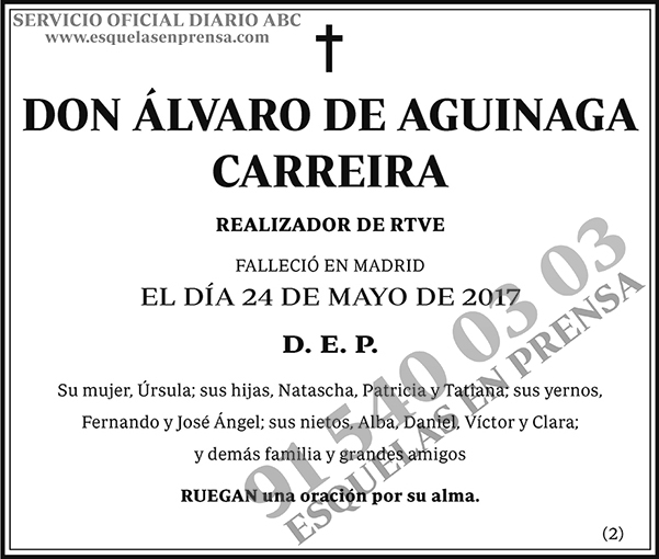 Álvaro de Aguinaga Carreira